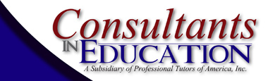 Consultants in Education by Professional Tutors of America